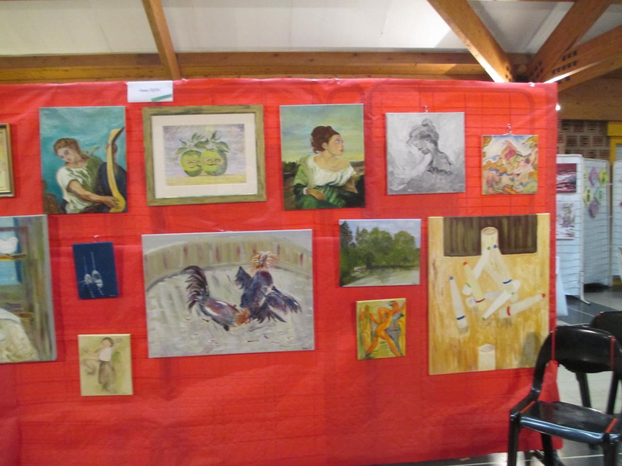 10 ème salon des Artistes Ostricourt 010