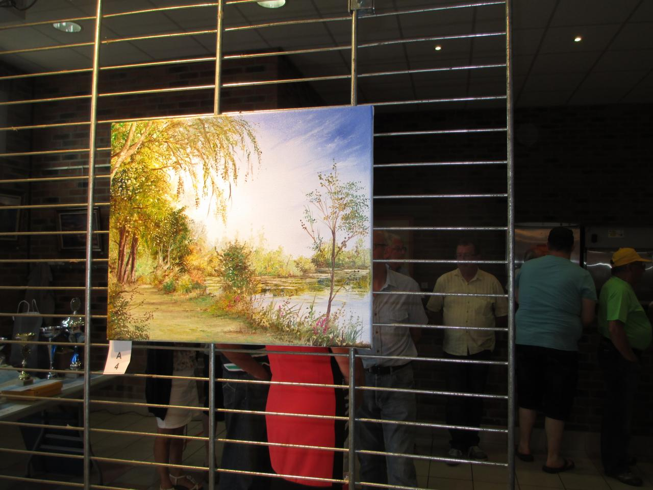 toiles des peintres faites dans la ville d'Hamel