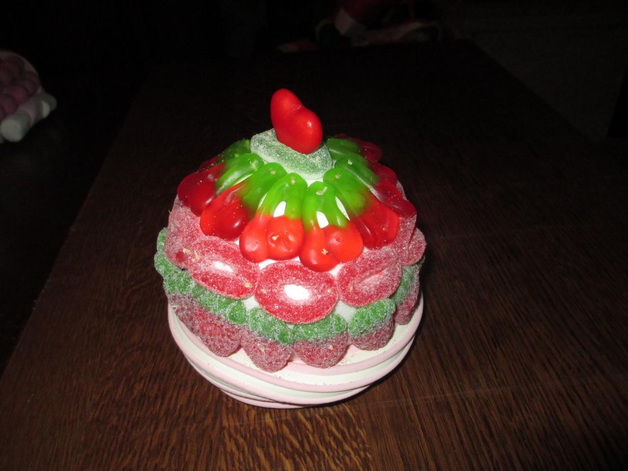 cup cake en bonbons