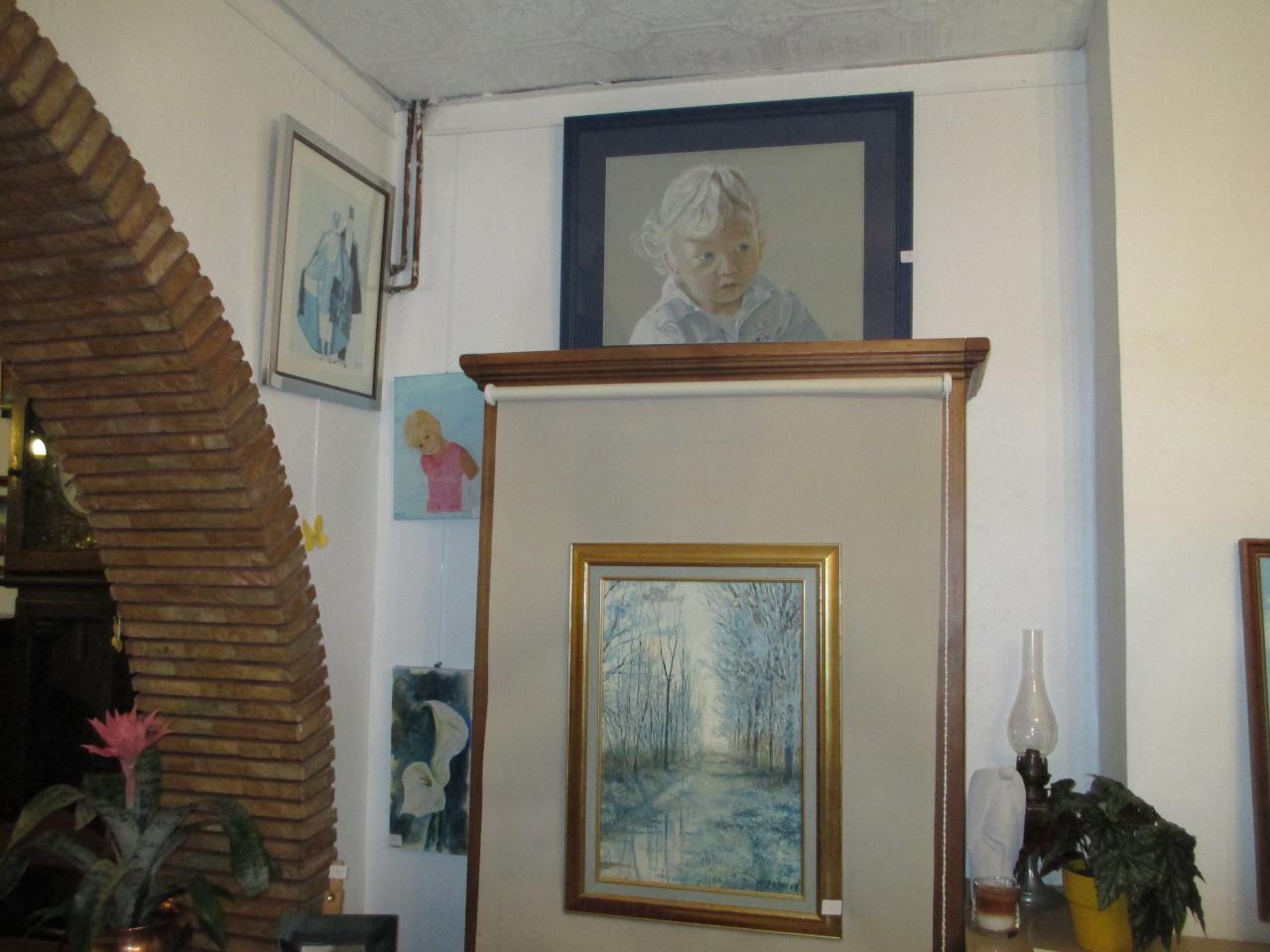 L'enfance de Pierre Talbot et une aquarelle
