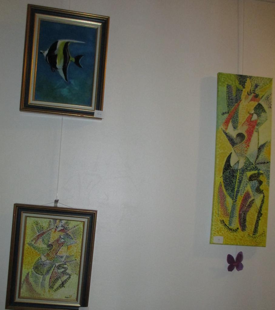 une femme en deux formats d'après Giono Sévérini