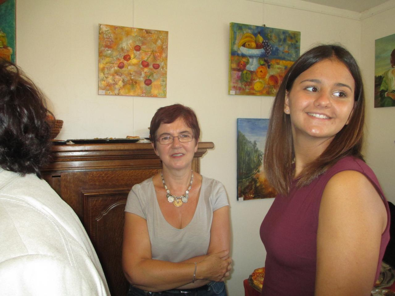 Une élue Lambrésienne et une artiste exposante