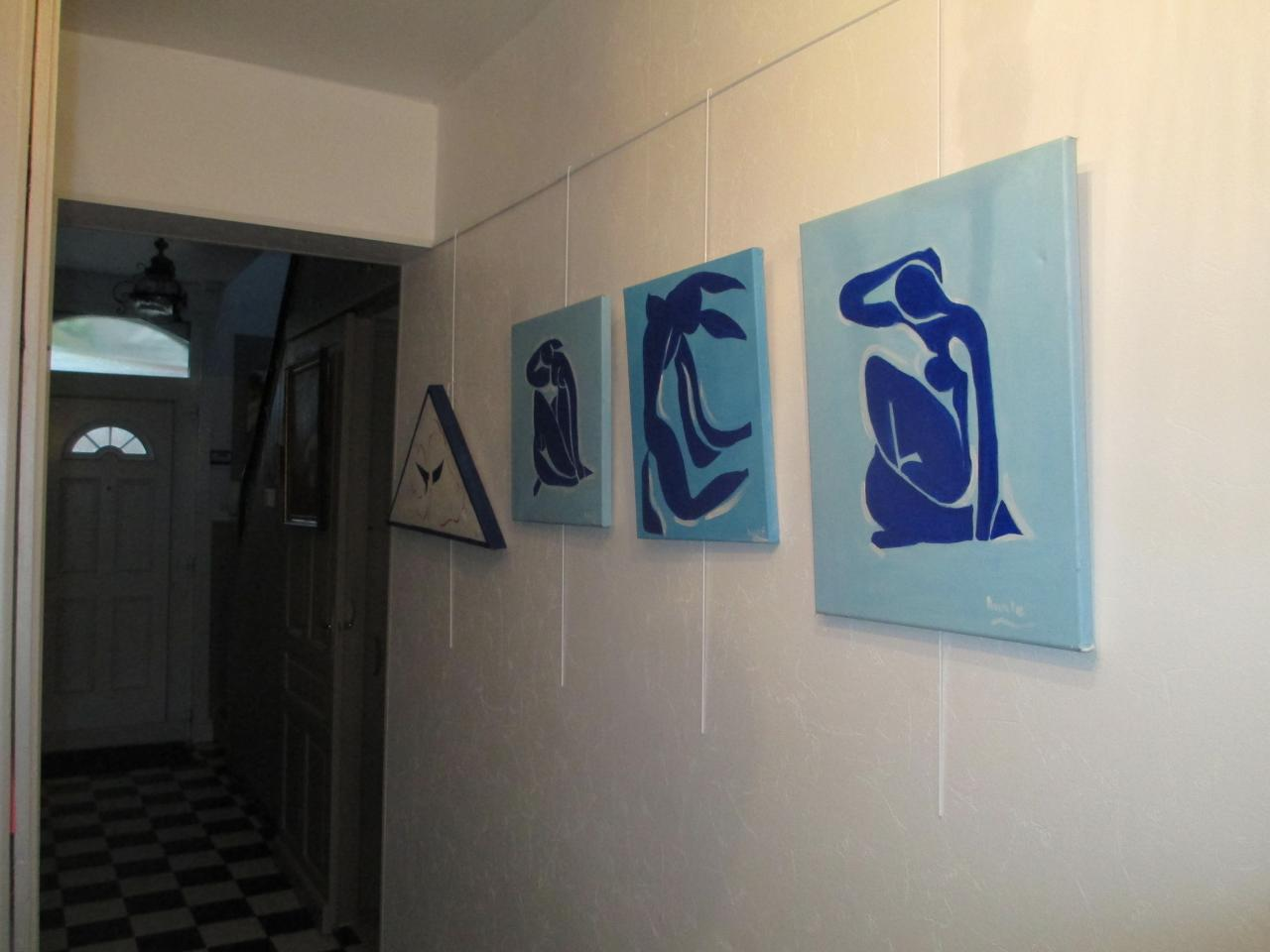 les femmes et le bateau d'après Matisse