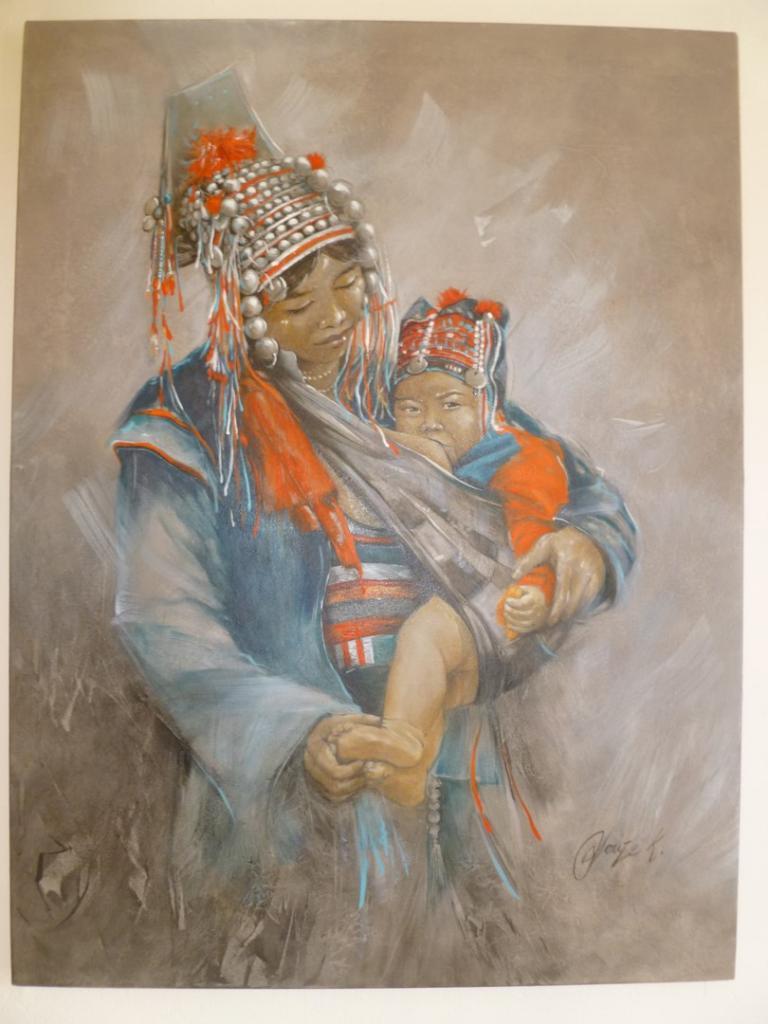 LAOS Femme et Enfant